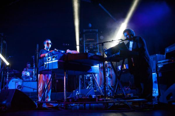 Alexis Taylor (left) and Joe Goddard formed Hot Chip together in 2000.
