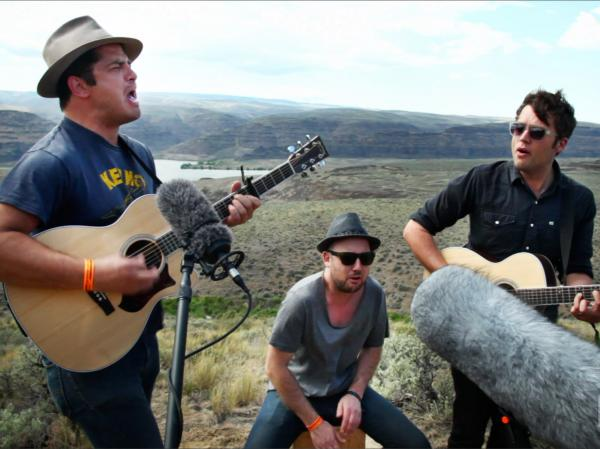 We Are Augustines perform for a Field Recording video
