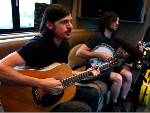 The Avett Brothers Field Recordings video shoot