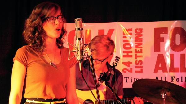 Lake Street Dive performs for Folk Alley at the Green River Festival.