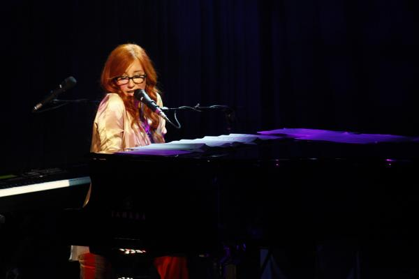 On Oct. 5, Tori Amos joined NPR Music for an exclusive concert at (Le) Poisson Rouge in New York City.