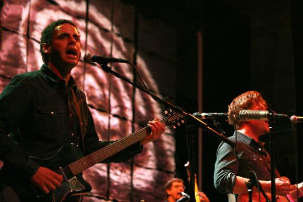 Calexico performs at World Cafe Live at the Queen in Wilmington, Del.