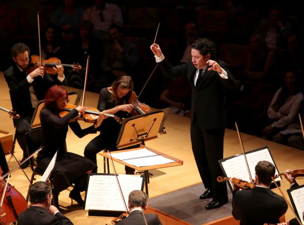 "In a recent interview with NPR's Robert Siegel, Dudamel called <em>Rite </em>""amazing...you discover new colors, you discover, 'Oh look, this is a very traditional harmony,' but then you see the details — and then every time it's different."""