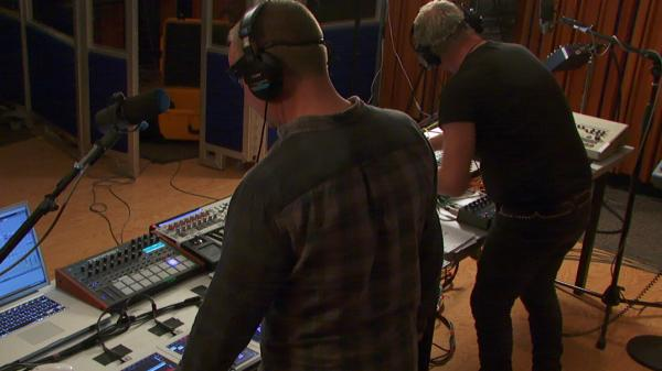 Orbital perform on KCRW.