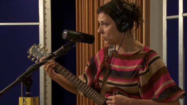 Laetitia Sadier performs on KCRW.