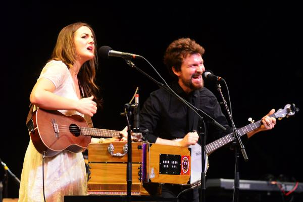 Although this is Barnaby Bright's first appearance on <em>Mountain Stage</em>, the pair was a finalist in the 2012 Mountain Stage NewSong Contest.
