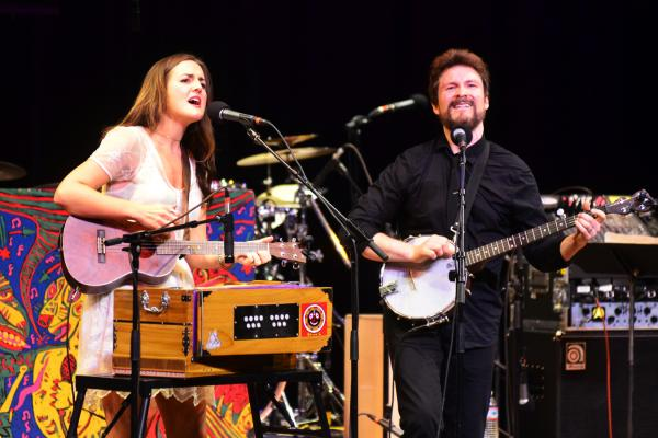 Nathan and Becky Bliss of Barnaby Bright make their first appearance on <em>Mountain Stage</em>.