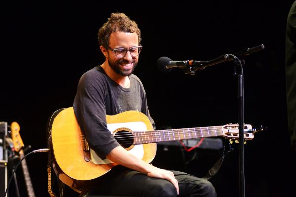 Grammy-winning singer-songwriter Jesse Harris plays songs from his bossa nova-influenced new album, <em>Sub Rosa</em>.