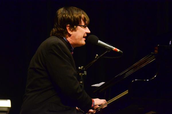 Although he now records with a full band in a studio, John Darnielle made his first recordings through the built-in microphone of a boombox.