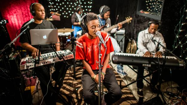 Odd Future offshoot The Internet performs live at KEXP in Seattle.