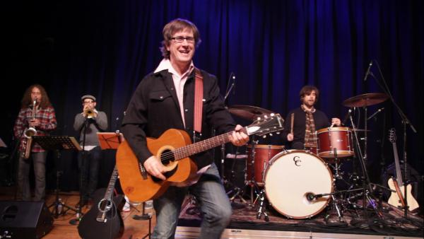 John Darnielle and his band The Mountain Goats perform live at opbmusic in Portland.