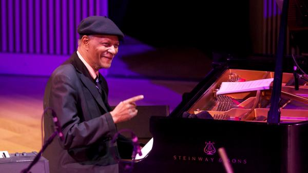 McCoy Tyner at the SFJAZZ Center Opening Night concert.