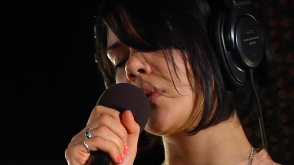 Bat For Lashes performs live on WFUV.