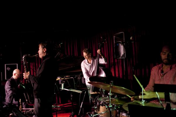 The Chris Potter quartet.