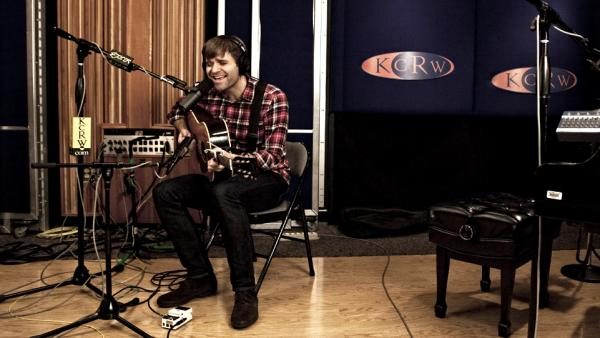 Ben Gibbard performs live on KCRW.