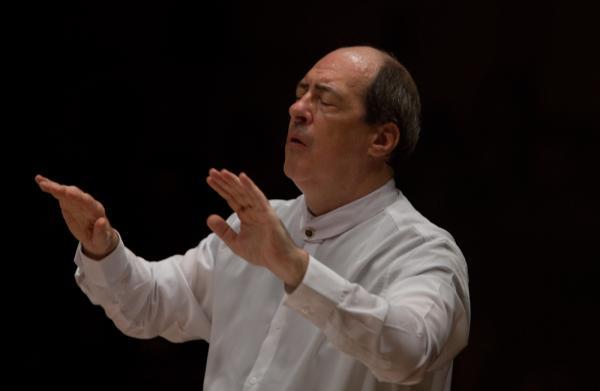 "Although Robert Spano has conducted Golijov's <em>Passion</em> before — and has made a recording — he says he still feels ""totally intimidated"" by the diversity of the score. ""It was learning a new musical vocabulary,"" he said."