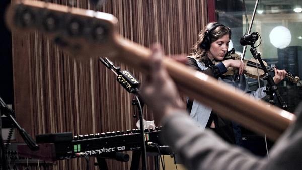 Ra Ra Riot violinist Rebecca Zeller.