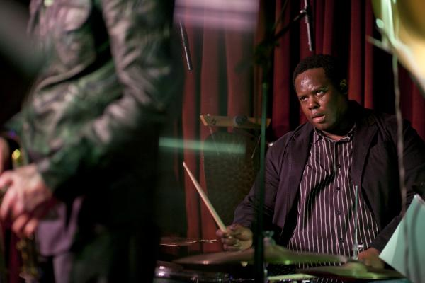 Johnathan Blake is also the regular drummer in Tom Harrell's quintet.