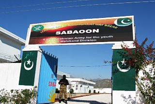 Sabaoon, another center for re-educating former militant recruits, was held by the Taliban before the Pakistan army took it over during the offensive to clear the Taliban from Swat.