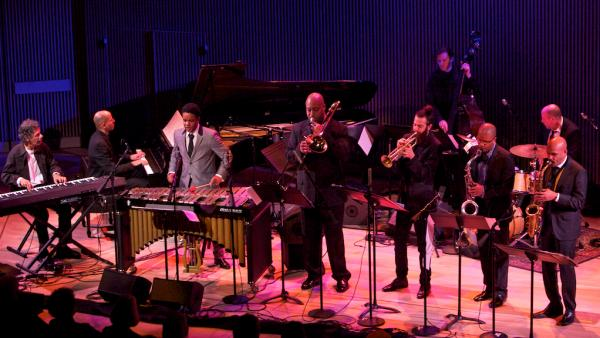 Chick Corea performs with the SFJAZZ Collective at the SFJAZZ Center opening night.