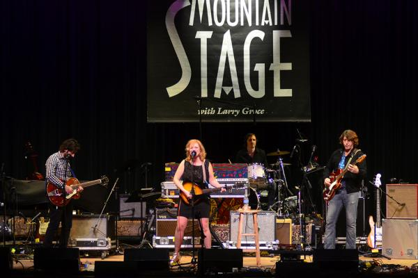 Piney Gir performs live on <em>Mountain Stage</em>.