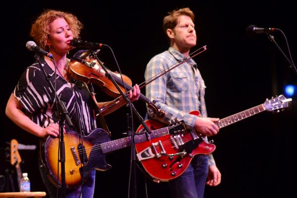 Kathleen Edwards performs live on <em>Mountain Stage</em>.