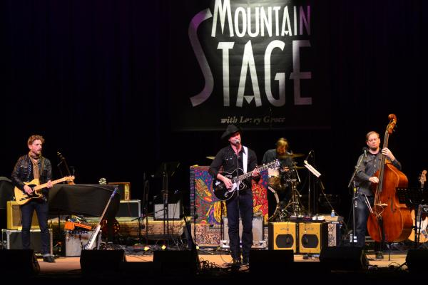 Corb Lund performs live on <em>Mountain Stage</em>.