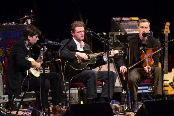 The Down Hill Strugglers recently appeared on <em>Mountain Stage</em> for the first time.
