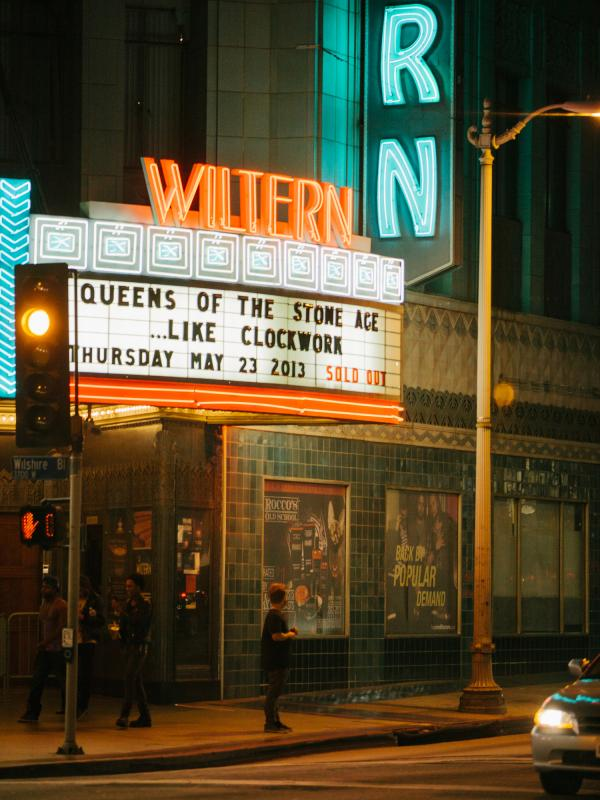 The Wiltern Theatre in Los Angeles.