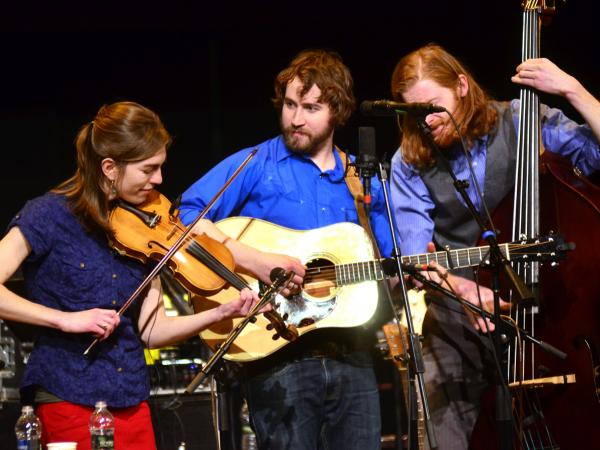 The Stray Birds' members make their first appearance on <em>Mountain Stage</em>, recorded live on the campus of West Virginia College in Buckhannon.