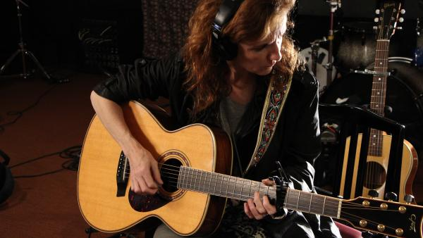 Patty Griffin performs a live studio session at WFUV in New York City.