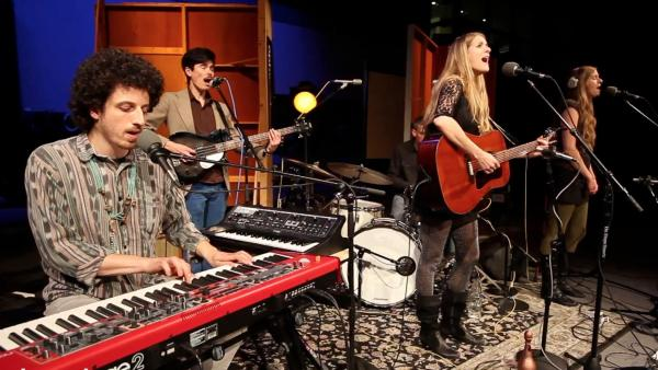 Portland's Morning Ritual performs live for opbmusic.