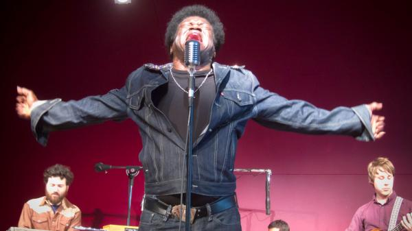 Charles Bradley and his band perform live at KUTX in Austin.