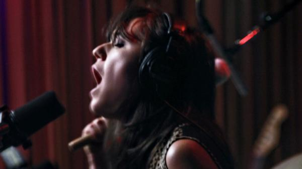 Emily Wells performs live on KCRW's Morning Becomes Eclectic.