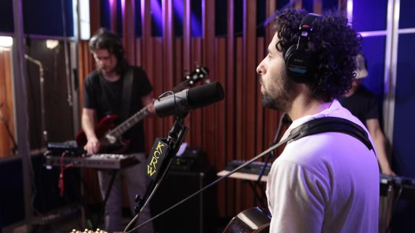 Junip performs live on KCRW's <em>Morning Becomes Eclectic</em>.