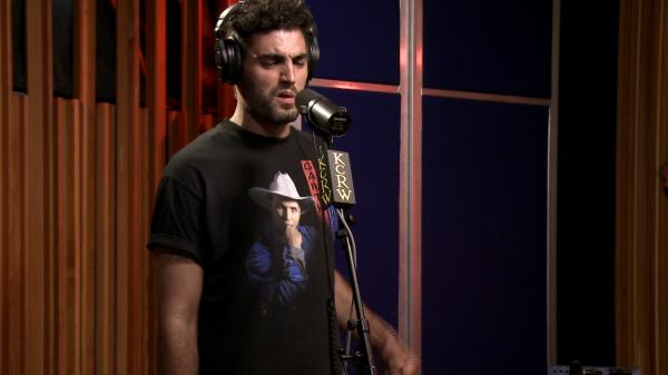 Daughn Gibson performs live on KCRW's <em>Morning Becomes Eclectic</em>.