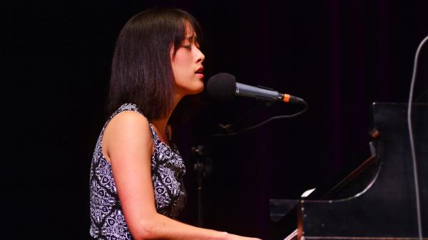 Vienna Teng performs live on <em>Mountain Stage</em>.