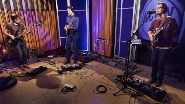 White Denim performed live on KCRW's <em>Morning Becomes Eclectic</em>.