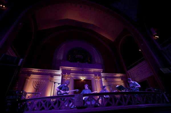 The synagogue provided the perfect space to showcase Bill Callahan's beautiful but deadpan baritone voice, as he performed highlights from his latest album, <em>Dream River</em>.
