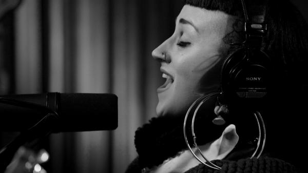 Hiatus Kaiyote's Nai Palm performs live in KCRW's studios.
