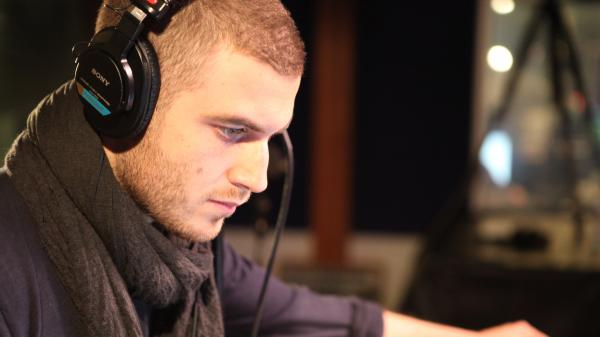 Nicolas Jaar of the duo Darkside performs live on KCRW.