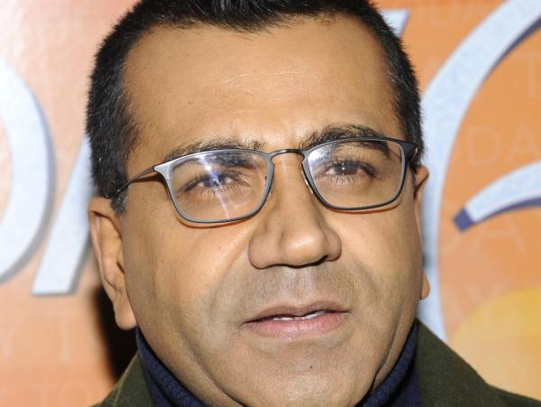 Martin Bashir attends the <em>Today</em> show's 60th anniversary celebration, in January 2012.
