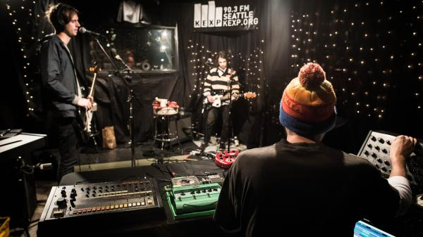 Jagwar Ma performed live on KEXP Dec. 10.