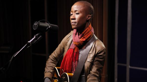 Rokia Traore performs live on KCRW.