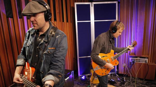 Jamestown Revival performed live on KCRW.