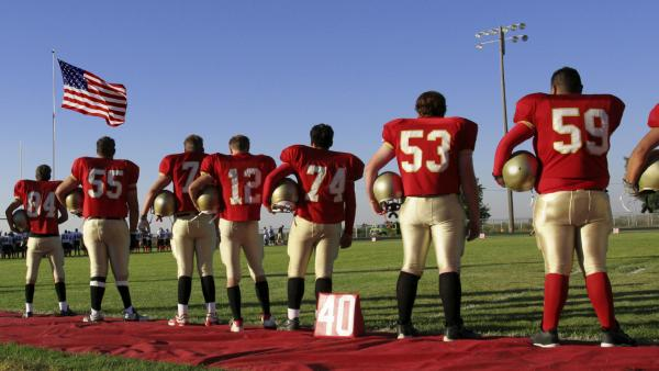 Most Americans are aware that football carries a risk of concussions. An NPR poll found a large proportion of people believe safety improvements are needed for football to remain a high school sport.