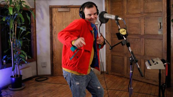 Samuel T. Herring of Future Islands on KCRW.