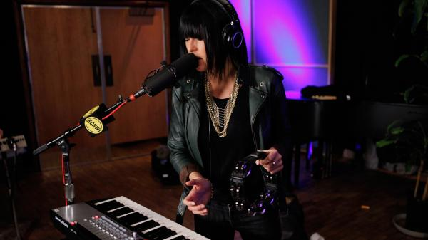 Phantogram performs live on Morning Becomes Eclectic.