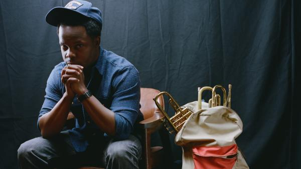 Ambrose Akinmusire's new album, <em>The Imagined Savior Is Far Easier To Paint</em>, is out March 11.
