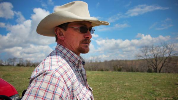 "Bill Miller, a part-time farmer in Aurora, Mo., says farming ""gets in your blood."""